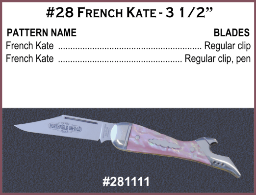 French Kate Pocket Knife