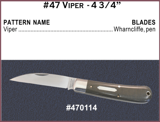 Viper Pocket Knife